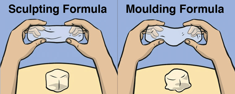 Sculpting and Moulding formulas
