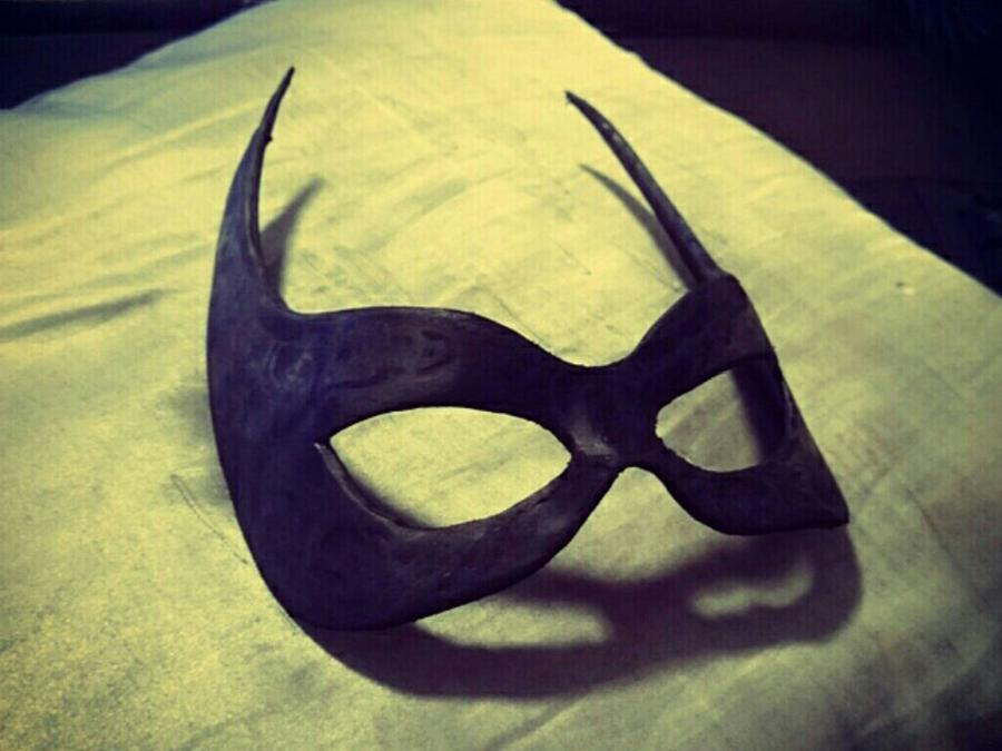 Batgirl Mask Plastimake