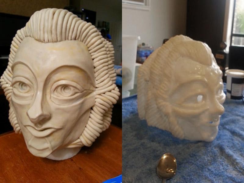 Dr Who Robot Mask Plastimake