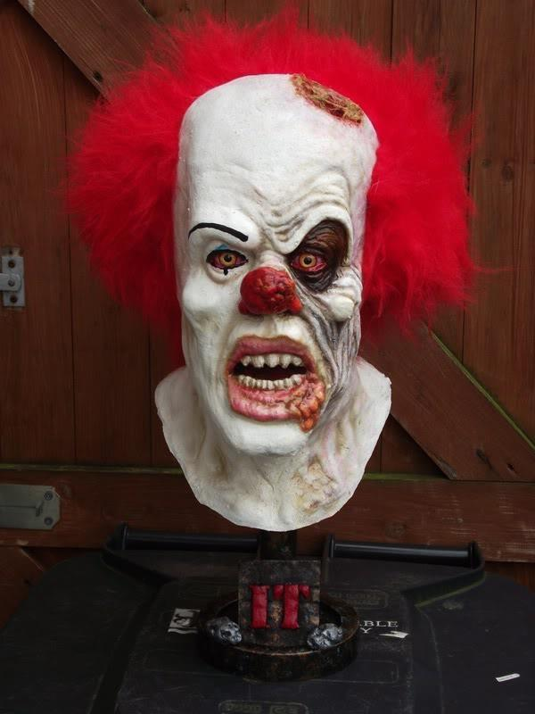 it clown head plastimake