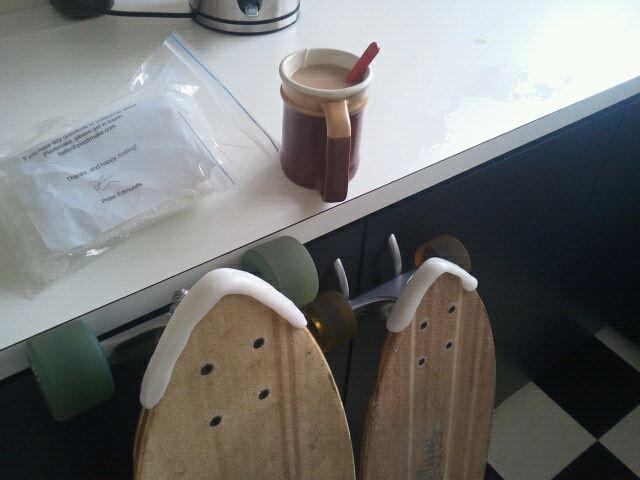 Skateboard Nose Guard Plastimake