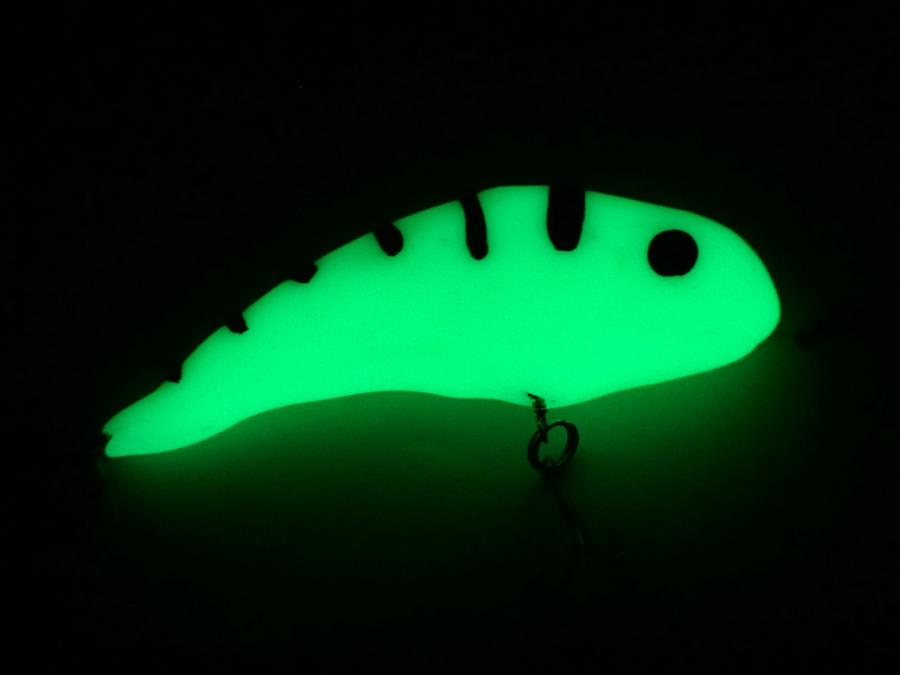 Fishing lures plastimake for Glow in the dark fishing lures