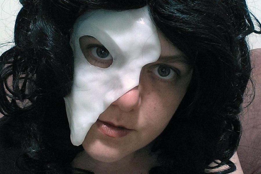 Phantom Of The Opera Mask Plastimake