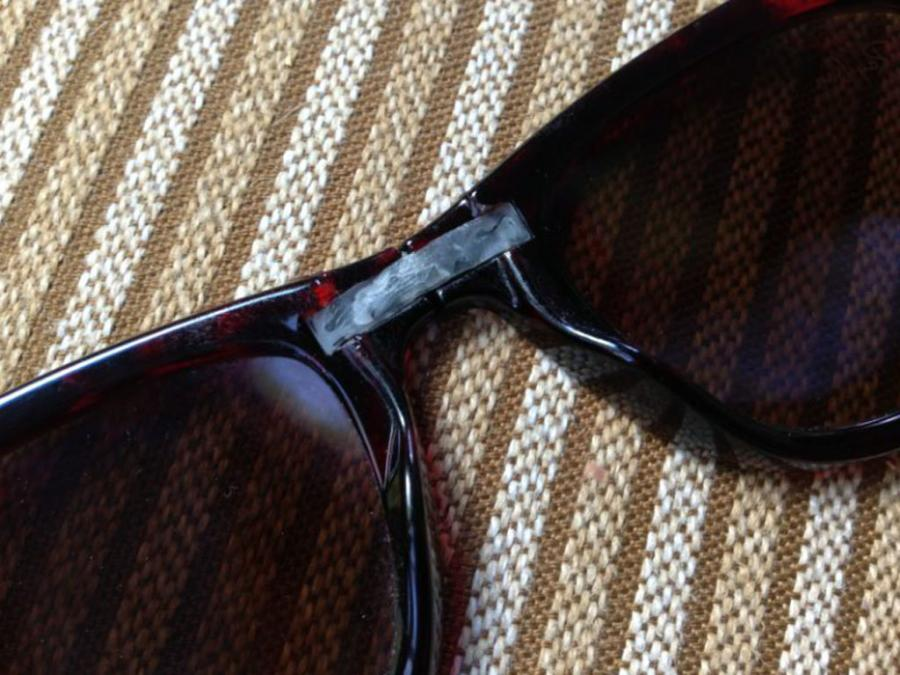 Ray Ban Sunglasses Repair  ray ban repair plastimake