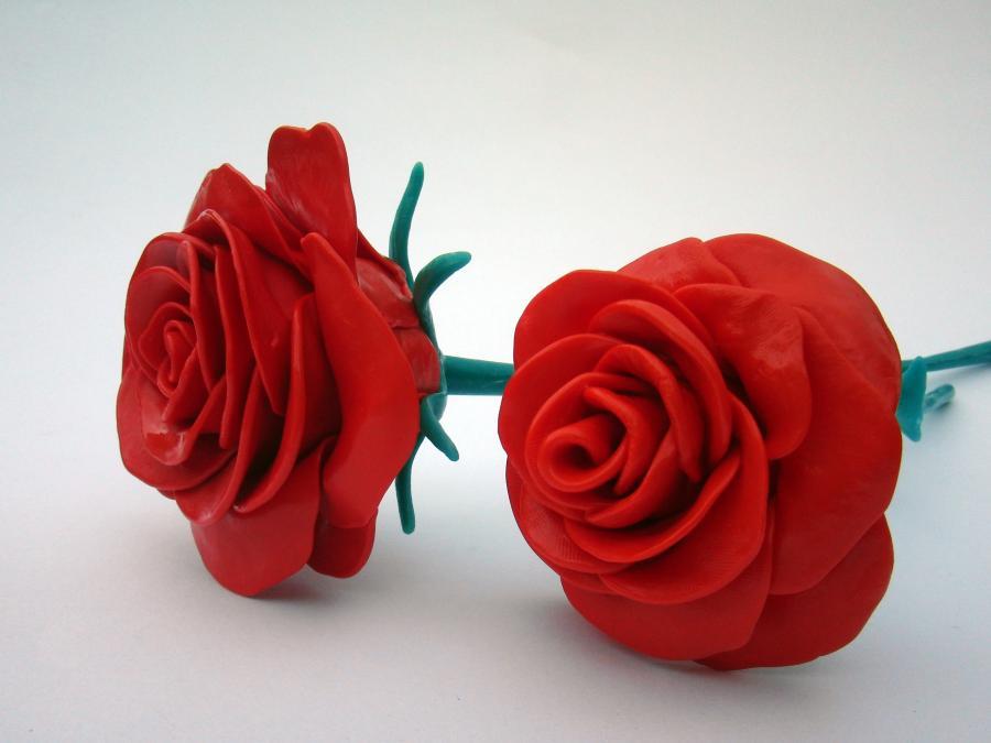 Red Roses Plastimake
