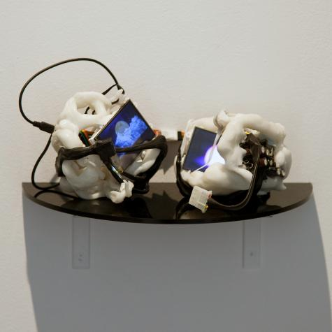 Electronic sculpture