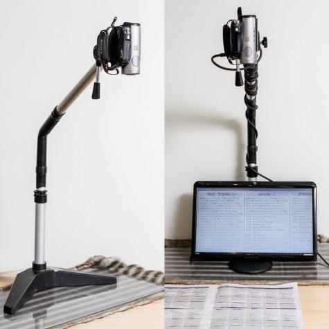 Camera stand attachment