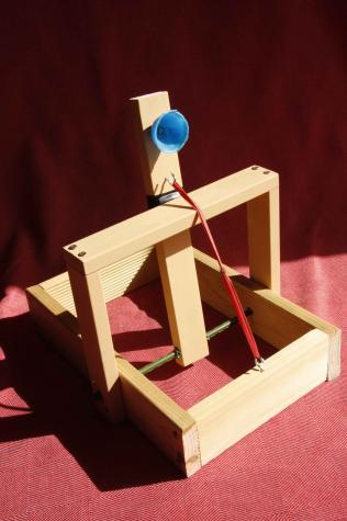 Catapult basket