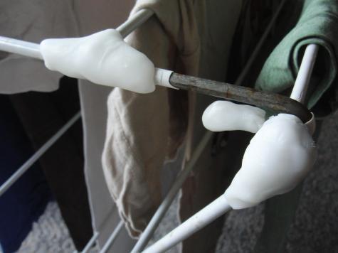 Drying rack repair
