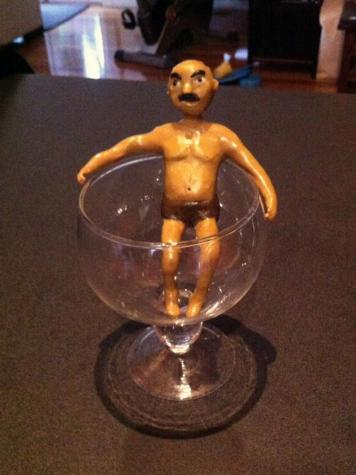 Drink figurine