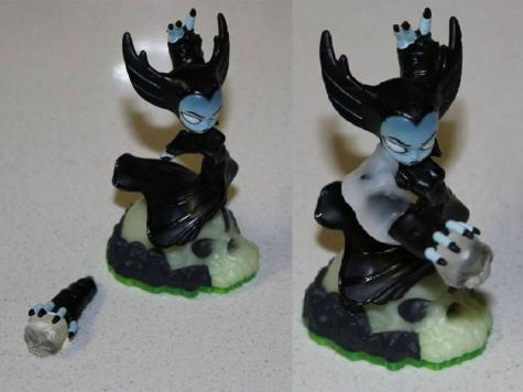 Figurine repair