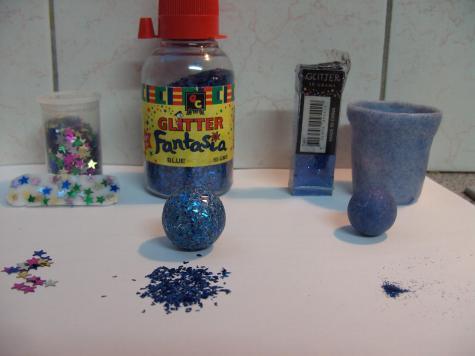 Glitter experiments