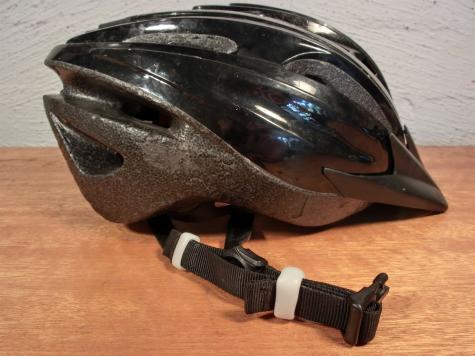 Helmet clips