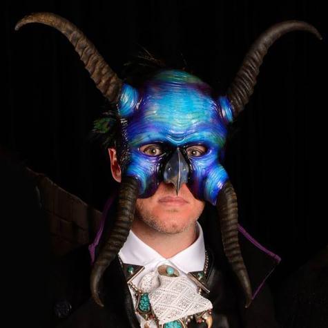 Springbok horn mask