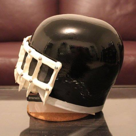 Judge Death visor