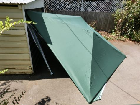 Marquee tent repair