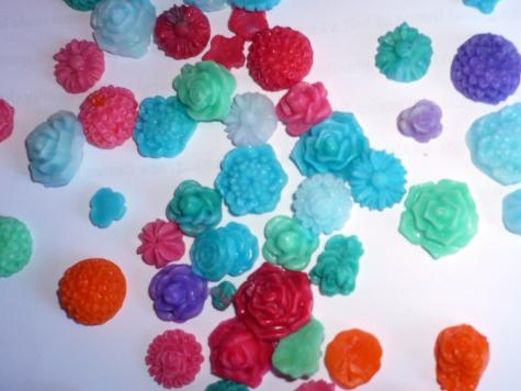 Icing mould flowers