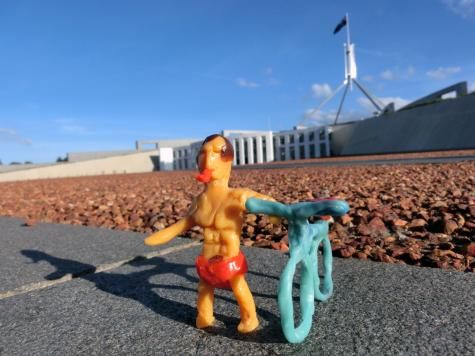 Political figurine
