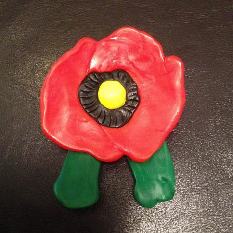 Poppy badge