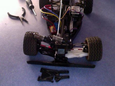 RC car repair