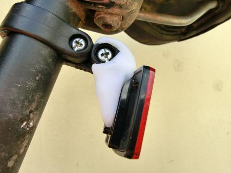 Bicycle reflector repair