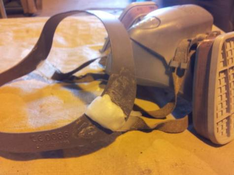 Respirator strap repair
