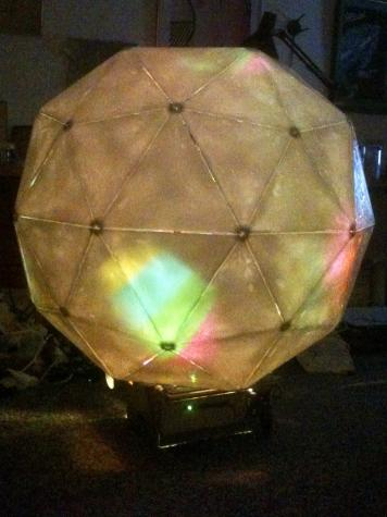 Large Geodesic Sphere