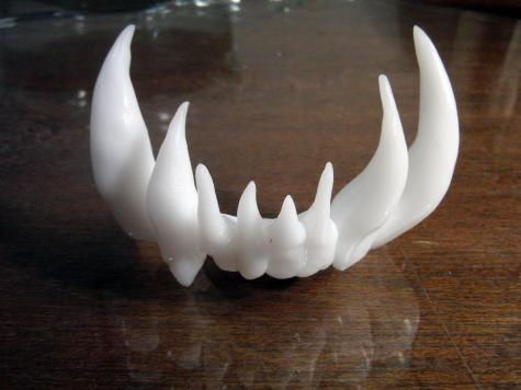 Monster teeth
