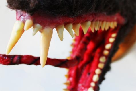 Spiky teeth