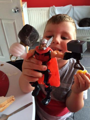 Thor toy conversion