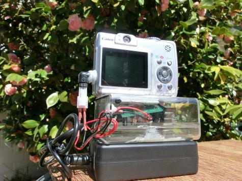 Camera plug support