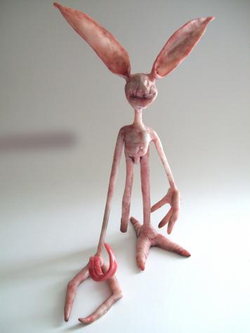 """""""Bad boy of rap"""" sculpture"""