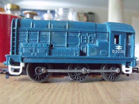 Model train steps