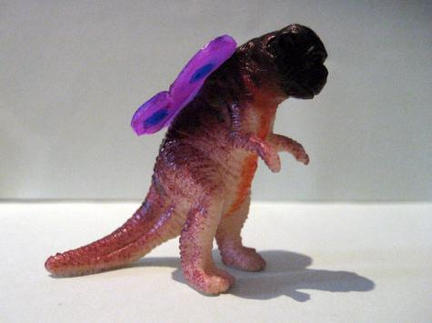 Hybrid toy: Ape-Raptor